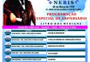 Programação Especial de Aniversário do NEBIS
