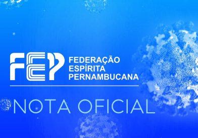 Nota oficial da FEP (18 de junho 2020)