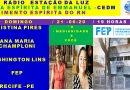 Cristina Pires, Ana Champloni e Washington Luiz na WEB RÁDIO ESTAÇÃO DA LUZ