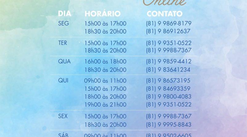 ATENDIMENTO FRATERNO FEP – ONLINE (Atualizado EM 1º JULHO 2020)