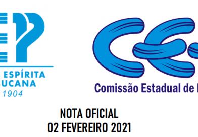 Nota oficial conjunta FEP e CEE (02 de Fevereiro de 2021) – COVID19
